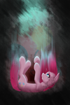 There's only way down... Pinkamena by Alexis25