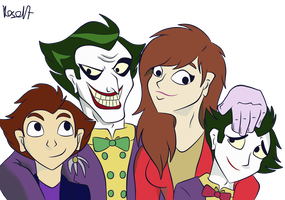 Commission - Joker's family picture by Kosa17