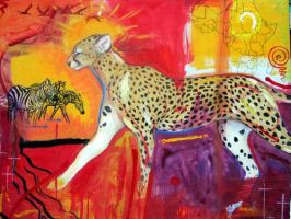 cheetahking by julip