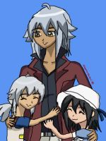 .:Tsubasa and his kids:. by VictoriaRZepeda