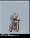 TMNT TBOTS Master Splinter Col by theblindalley