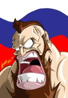 Zangief by SuperManosBros