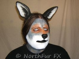 Wolf-Dog Nose - Grey Wolf by NorthFurFX