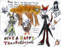 Happy thanksgiving by Eehli