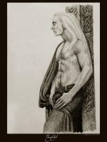 Thoughtful - Lucius Malfoy by Ellygator