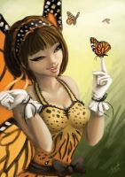 Monarch Pixie by tkpanther