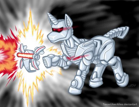 Rom: Space Pony by TexasUberAlles