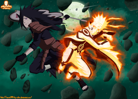 ''NARUTO VS MADARA'' (epic battle) by NARUTO999-BY-ROKER