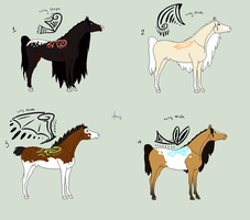Wingchime Adopts by SubterraneanStables