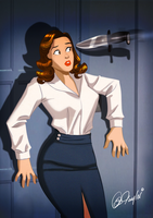 The Perils of Agent Carter- By Des Taylor by DESPOP
