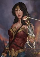 Wonder Woman by SaifuddinDayana