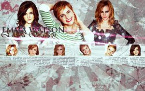 Emma Watson Wallpaper by CaptainSwanForever