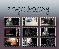 Stamps. Ergo.Proxy by fieryamazon