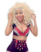 Nicki minaj pound the alarm png by partyinthecircus