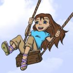 Just A Swinging by ArtGuyCharlie