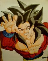 Son Goku by DIRTYBAD96