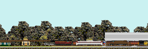 Southern 630 at the Soule Shops (Animation) by NewYorkCenteralfan01
