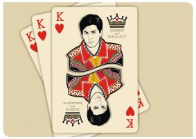 SRK THE KING OF HEART by jagatvyas