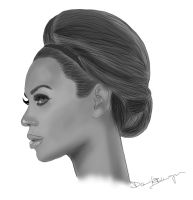 Beyonce Knowles by DennisB-Art