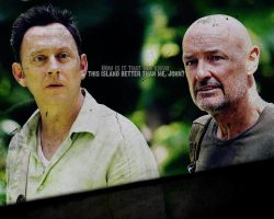 John Locke and Benjamin Linus by Skittles1