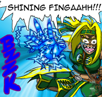 Shining Fingah by Pltnm06Ghost