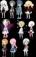 Adoptables 9 by AAA-Adopts