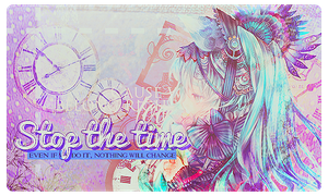 [Stop The Time] by OhMyPink