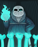 You Gonna Get Dunked On - Undertale by KikiChan94ftw