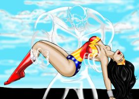 Comm - Wonder Woman Carried by JosephB222