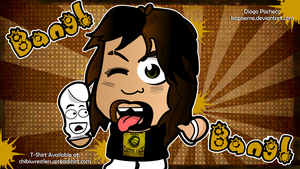 Cactus Jack - WWE Chibi Wallpaper by kapaeme