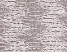 silver silk textile by ambersstock