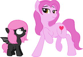 DOLL: Mother and daughter by Starlollipop