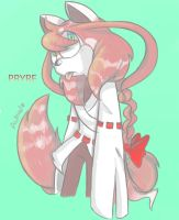 Pryre the red panda by Patrial