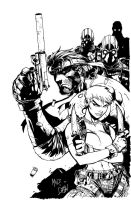 MetalGear Solid2 by DHinking