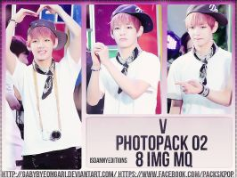 V (BTS) - PHOTOPACK#02 by GabyByeongari