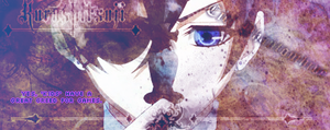 Ciel Phantomhive Banner2 by lovenotwarcraft