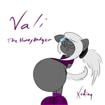 Vali the Honey Badger by XodisVoreBin