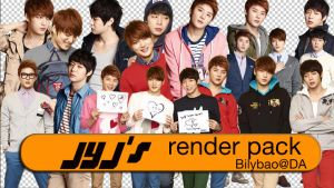 JYJ's render pack by BiLyBao