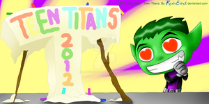 Celebrating Teen Titans 2012 by RavenEvert