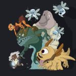 Babs and her monsters by guynshades1980srock