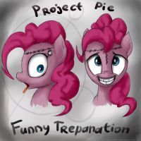 Pinkie Pie. Trepanation by rule1of1coldfire