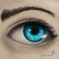Eye exemple by sisaat