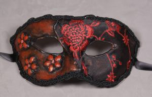 Masquerade Mask-Mala Rosa by EffigyMasks