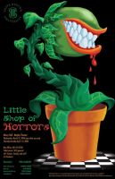 Little Shop of Horrors Poster by Barnzey81