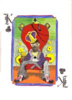 King of Clubs by xblade7x