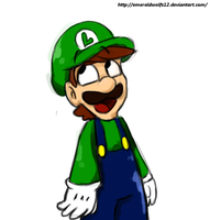 Rq: Luigi is Happy by MariobrosYaoiFan12