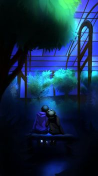 MM-Greenhouse: Into the night #4 by Tanjin