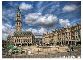 Belfort in Arras by Danferno