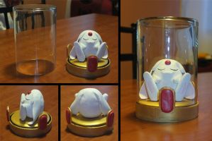 White Mokona by animeyume06
