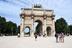 Arc de Triomphe du Carrousel by jofi555